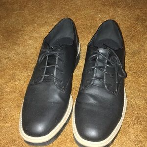 Oxford navy shoes for women